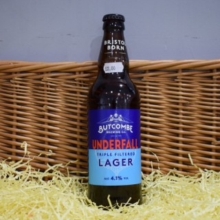 Butcombe Brewing Co: Underfall Triple Filtered Larger (500ml)