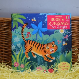 Book & Jigsaw: The Jungle