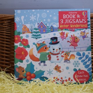 Book & Jigsaw: Winter Wonderland