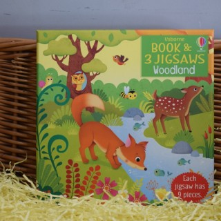 Book & Jigsaw: Woodland