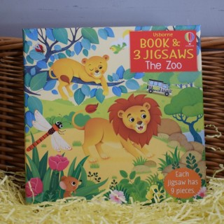 Book & Jigsaw: The Zoo