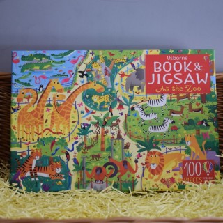 Book & Jigsaw: At The Zoo