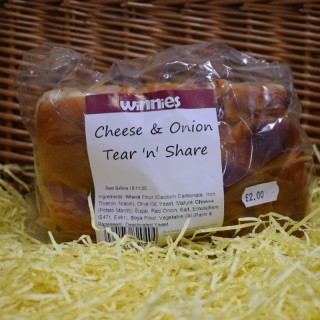 Cheese and Onion Tear 'n' Share
