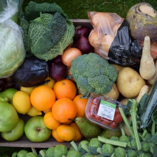 Large Winter Fruit and Vegetable Box