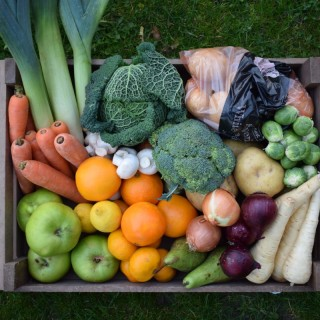 Medium Winter Fruit and Vegetable Box