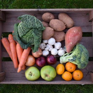 Small Winter Fruit and Vegetable Box