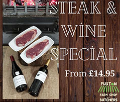 Puxton Steak Wine Offer
