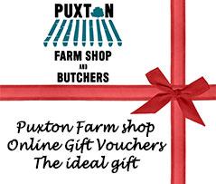 Puxton Farm Shop Online Gift Vouchers